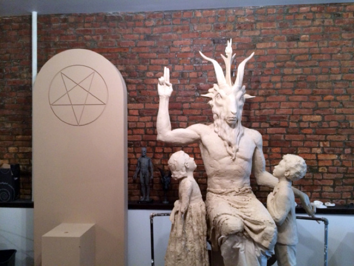 Here's the First Look at the New Satanic Monument Being Built for Oklahoma's Statehouse 99