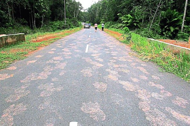 Mystery footprints found over 1km in Malaysia 12