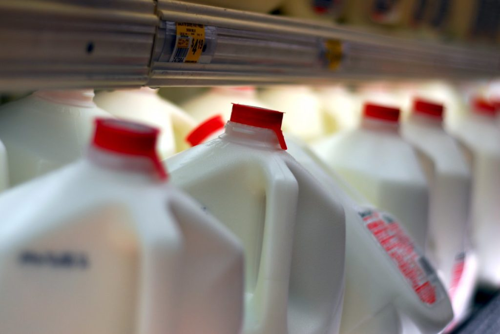 If there's not enough cow's milk, there will be less dairy products like cheese, yogurt, and ice cream. These products will also be more expensive.