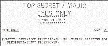 Government In Communication With Aliens Says Top Secret Document 89