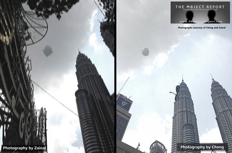 Rare Double Eyewitness Capture of UFO Over Petronas Towers 14