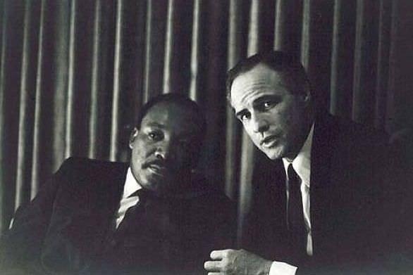 Martin Luther King Jr, and Marlon Brando
