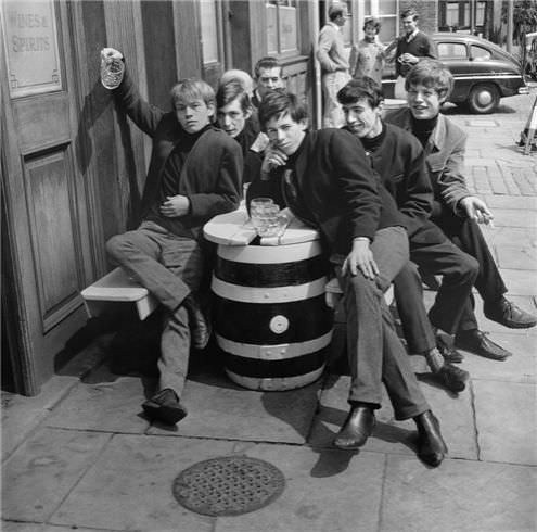 The Rolling Stones circa 1963