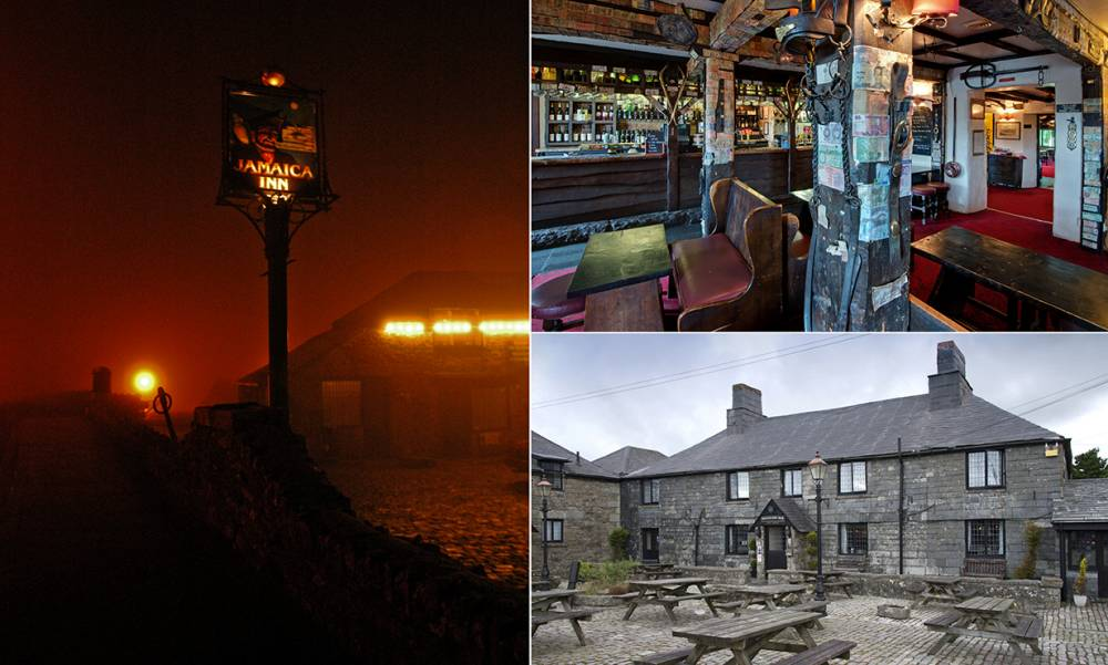 Mandatory Credit: Photo by Phil Rees/REX (570982a)nJamaica Inn, Cornwall's legendary coaching house which was immortalised in Daphne du Maurier's novel of the same name, has stood high on Bodmin Moor for over four centuries, Cornwall, England, Britain.nVARIOUSnn