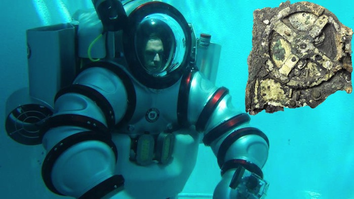Wearable 'Iron Man' Submarine to Hunt for 2000-year-old Antikythera Device 90