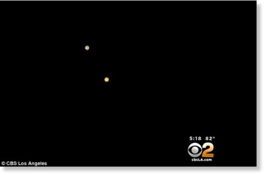Mystery lights spotted by residents across hundreds of miles of southern California 10