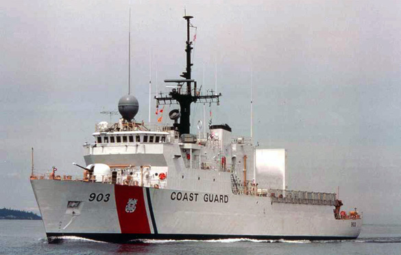 Cutter is the term used by the United States Coast Guard for its commissioned vessels. A Cutter is 65 feet or greater in length, has a permanently assigned crew, and has accommodations for the crew to live aboard. (Credit: Wikimedia Commons)