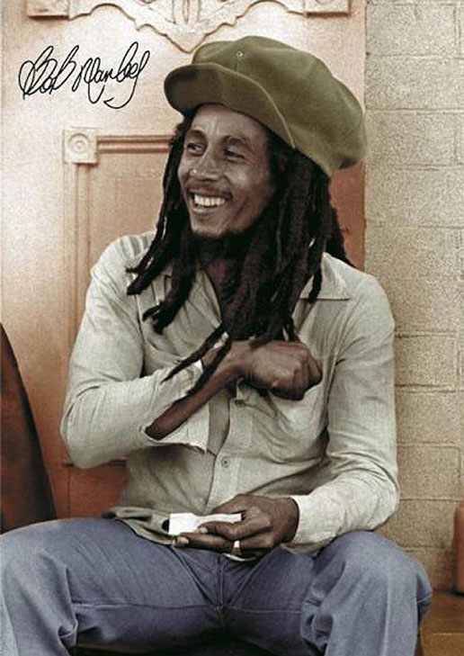 Nesta Robert ¨Bob¨ Marley: In his revealing book, Marley And Me, former Wailers manager Don Taylor notes that an unknown doctor came and gave Bob a still unknown injection in his toe right after the ball game was interrupted. Malignant cancer originating in the same toe, was diagnosed some time after. Died on May 11, 1981