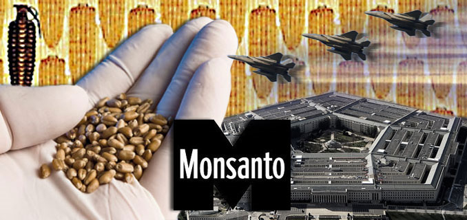 "Monsanto's GMO food and its dark connections to the ""military-industrial complex"" 96"