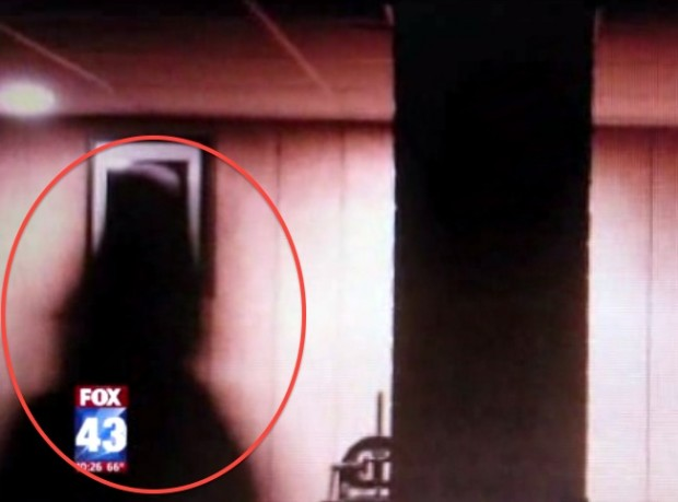 "The mysterious ""shadow man"" that DeAnn Simpson claims is infesting her home ("