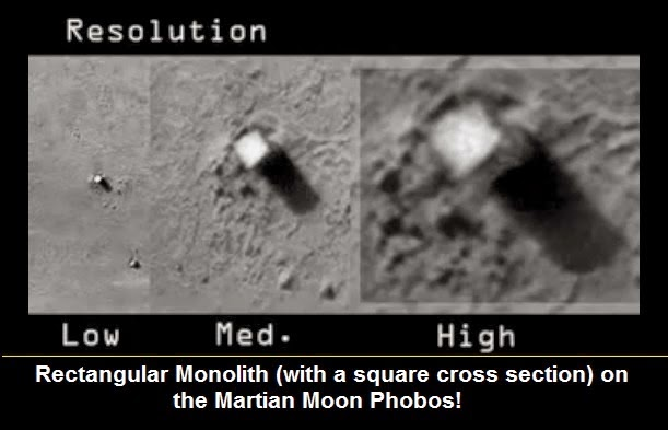 Extraterrestial Alien Bases on the Moon and Mars? 156