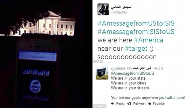 We are in your streets ISIL Tweets USA