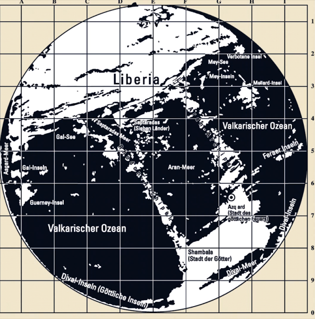 Third Reich Maps of the Inner Earth 34