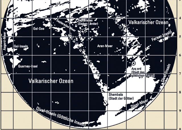 Third Reich Maps of the Inner Earth 33