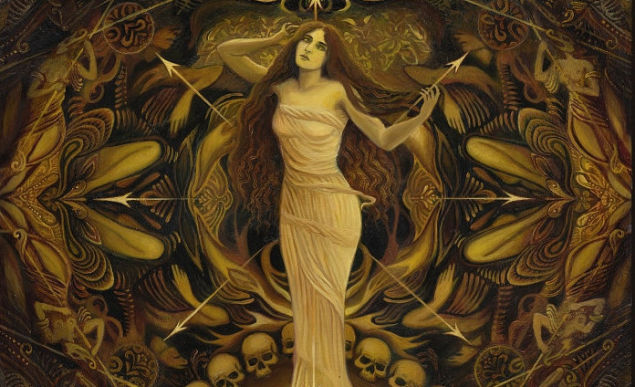Gorgeous, Creepy Pages From a Late 19th-Century Art Nouveau Occult Calendar 1