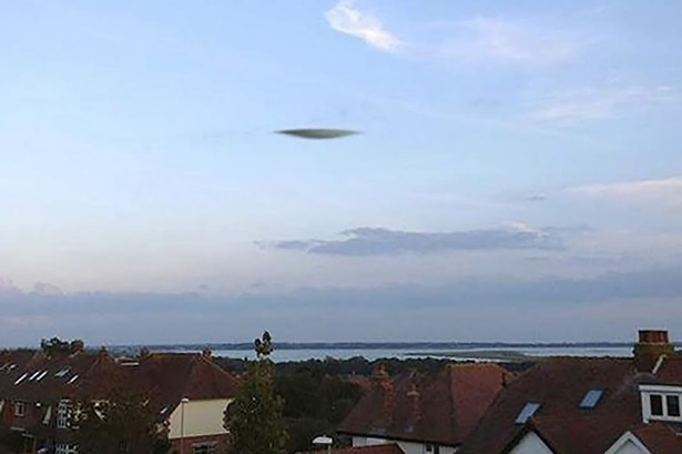 UFO spotted over south coast - and Met Office says it is definitely NOT a cloud 86