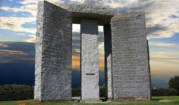 """2014″ Added to the Georgia Guidestones – Is This the Year Its Predictions Come True? 86"