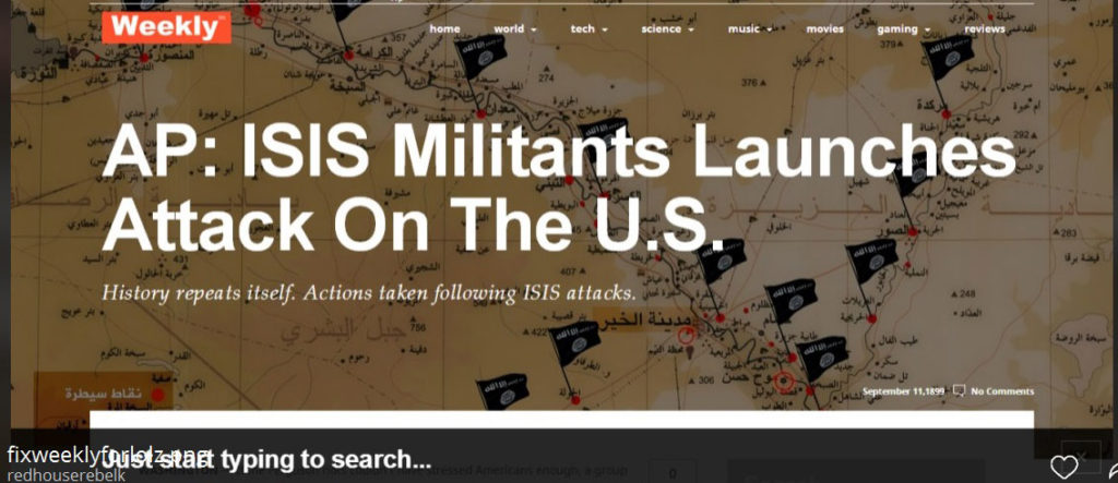 ISIS To Attack On 9/11/2014 !! FOX Puts Out An Article Then Deletes it From The Website 97