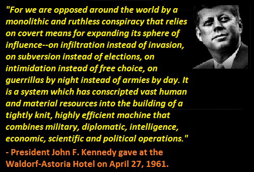 john_f_kennedy_monolithic_and_ruthless_conspiracy