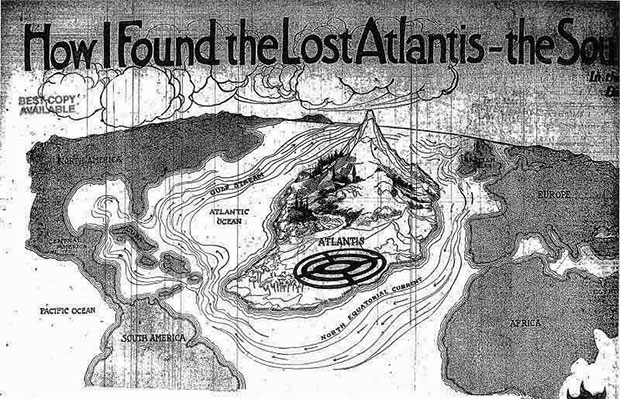 How I Found the Lost Continent of Atlantis, the Source of All Civilization  96