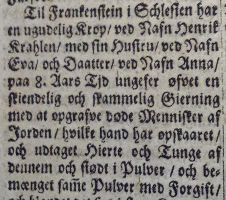 1673: The Original Frankenstein? 12