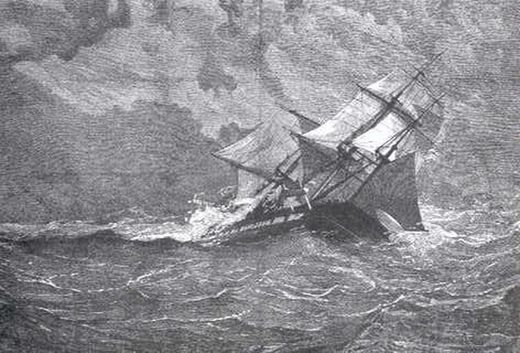 Six haunting tales of ghost ships throughout history  94