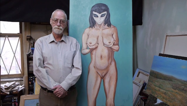 The Erotic Art of a Painter Who Claims an Alien Took His Virginity 29