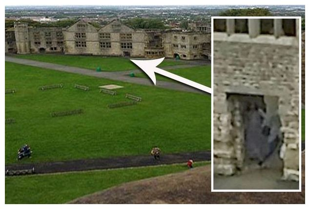 Is this a ghost of 'the Grey Lady' of Dudley Castle, caught on camera for first time? 86