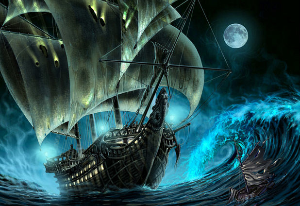 Six haunting tales of ghost ships throughout history  92