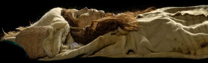 Ancient Aryan Mummies and Pyramids of China 11