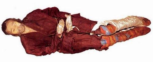 Ancient Aryan Mummies and Pyramids of China 12