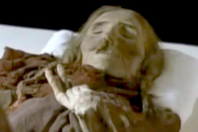 Ancient Aryan Mummies and Pyramids of China 13