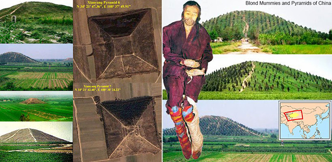 Ancient Aryan Mummies and Pyramids of China 101