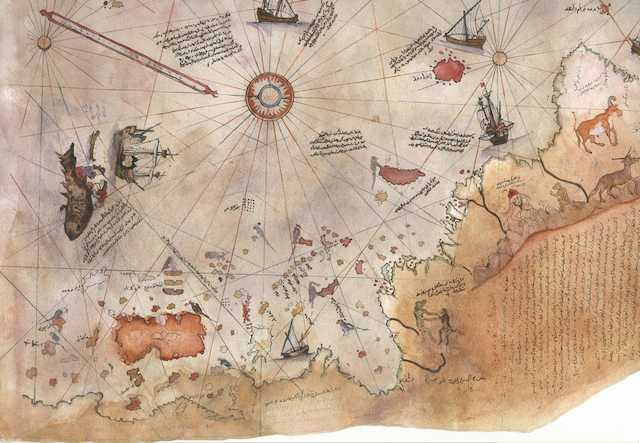 The 500 Year Old Map that Shatters the Official History of the Human Race 24