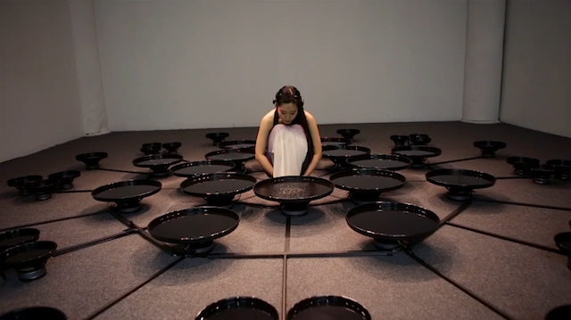 Artist Manipulates 48 Pools of Water with Her Mind 19