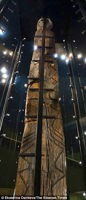 What is the world's oldest wooden statue trying to tell us? Etchings on haunting seven-faced Shigir Idol 'could hold a message to modern man' 20
