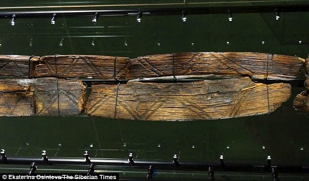What is the world's oldest wooden statue trying to tell us? Etchings on haunting seven-faced Shigir Idol 'could hold a message to modern man' 22
