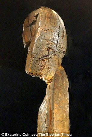 What is the world's oldest wooden statue trying to tell us? Etchings on haunting seven-faced Shigir Idol 'could hold a message to modern man' 23
