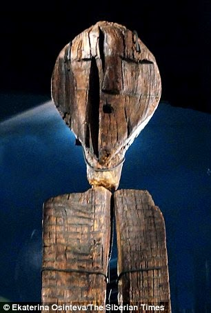 What is the world's oldest wooden statue trying to tell us? Etchings on haunting seven-faced Shigir Idol 'could hold a message to modern man' 24