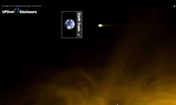 Moon size UFO near sun may be evidence of Type II alien civilization 32