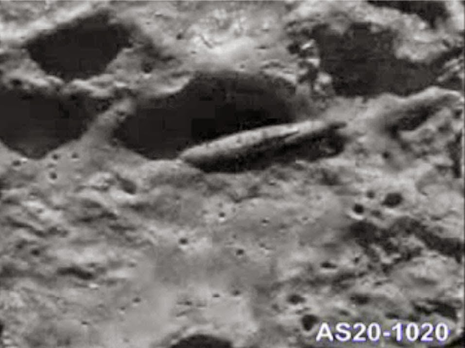 The Alien Bases Found on Our Moon and Mars 60