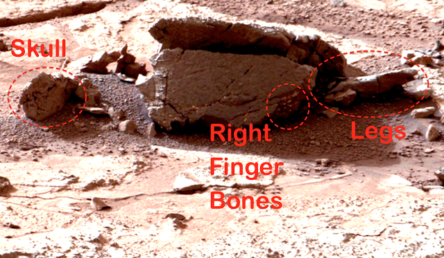 The Alien Bases Found on Our Moon and Mars 70