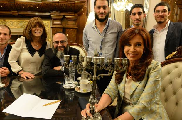 President of Argentina adopts Jewish godson to 'stop him turning into a werewolf' 94