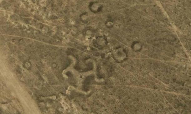 Over 50 ancient geoglyphs, including swastika, discovered in Kazakhstan