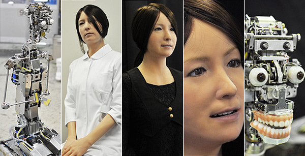 First Ever Human Robots Invented By Japanese Scientists 97