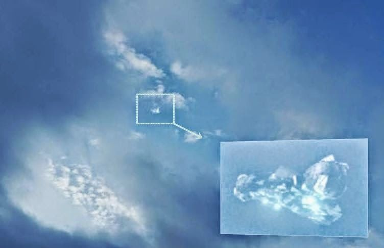 Witness photographs incredible transparent geodesic shaped UFO over Austria  30