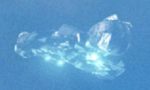 Witness photographs incredible transparent geodesic shaped UFO over Austria  91