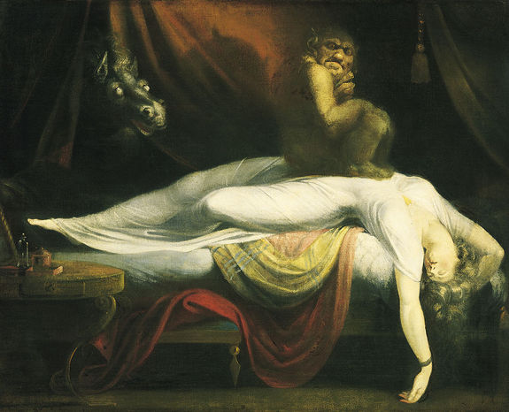 Sleep paralysis can lead to ghost sightings 1