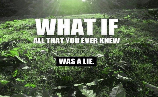 What If Everything You Were Ever Taught Was A Lie? 111