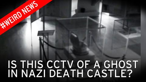 'Ghost' captured on CCTV at former Nazi concentration camp blamed for making objects disappear 86